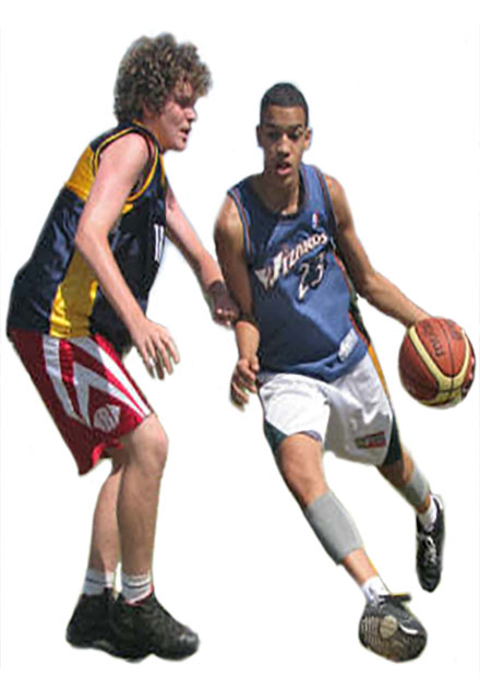 Basketball training action. All skill levels. Live-in or live-out