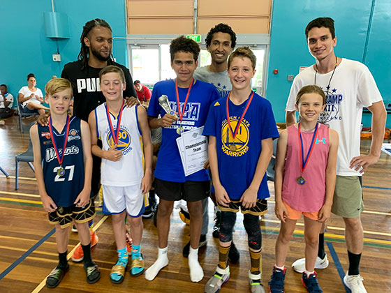 All-star 5, 11 & 12 years at 2020 Toowoomba Basketball Supercamp